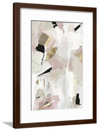 Black Rose Gold I-PI Studio-Framed Art Print