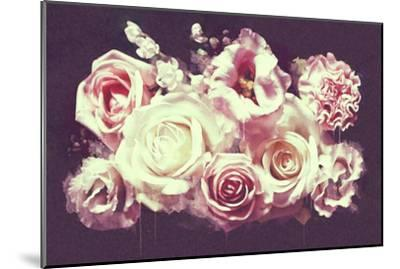 White Roses--Mounted Art Print