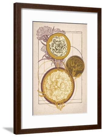 Floral Geometry--Framed Art Print