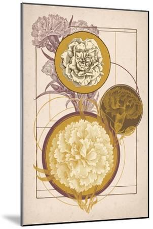 Floral Geometry--Mounted Art Print
