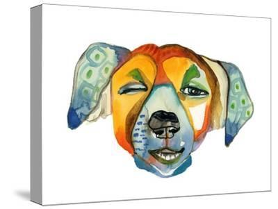 Cuba Dog, Camilla-Stacy Milrany-Stretched Canvas Print