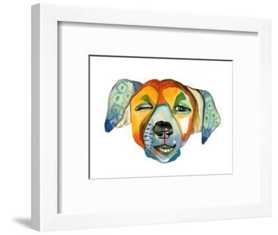 Cuba Dog, Camilla-Stacy Milrany-Framed Art Print