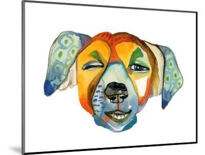 Cuba Dog, Camilla-Stacy Milrany-Mounted Art Print