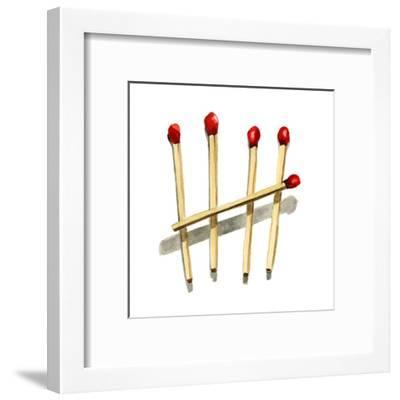 Count to five-Stacy Milrany-Framed Art Print