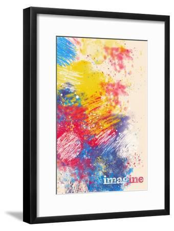 Imagine--Framed Art Print
