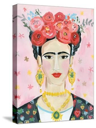 Homage to Frida--Stretched Canvas Print