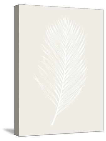 White Leaf-Design Fabrikken-Stretched Canvas Print