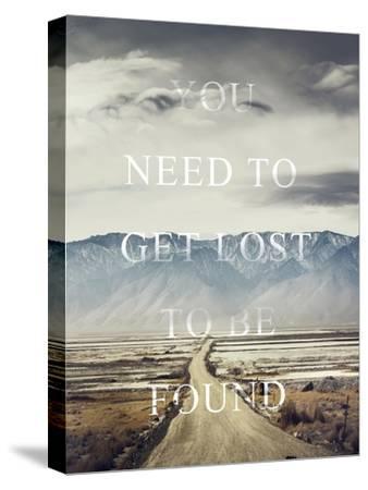 Get Lost-Design Fabrikken-Stretched Canvas Print