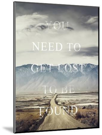 Get Lost-Design Fabrikken-Mounted Premium Giclee Print