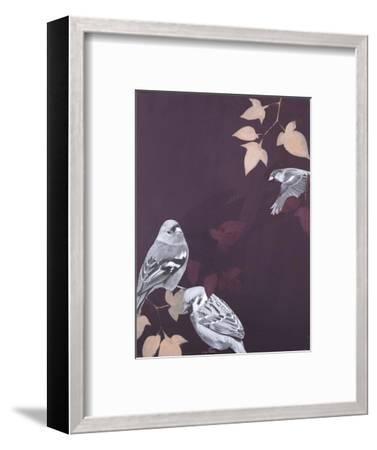 Bird 1-Design Fabrikken-Framed Art Print