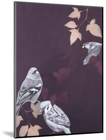 Bird 1-Design Fabrikken-Mounted Art Print