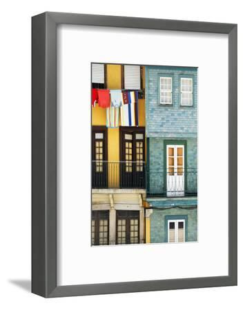 Welcome to Portugal Collection - Colorful Facades in Porto-Philippe Hugonnard-Framed Photographic Print