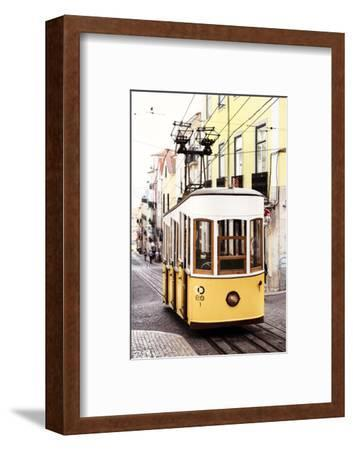 Welcome to Portugal Collection - Elevador da Bica - Lisbon Tram II-Philippe Hugonnard-Framed Photographic Print