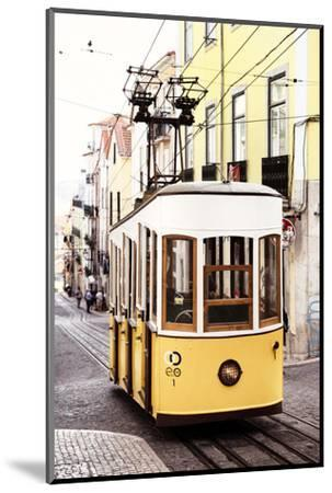 Welcome to Portugal Collection - Elevador da Bica - Lisbon Tram II-Philippe Hugonnard-Mounted Photographic Print
