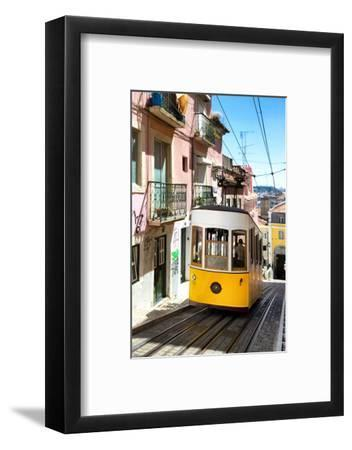 Welcome to Portugal Collection - Bica Tram Lisbon-Philippe Hugonnard-Framed Photographic Print
