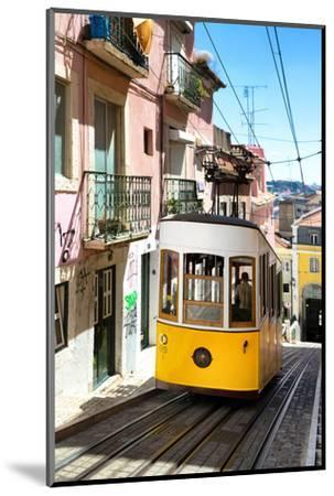 Welcome to Portugal Collection - Bica Tram Lisbon-Philippe Hugonnard-Mounted Photographic Print