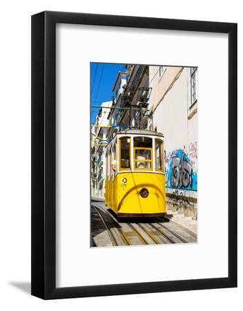 Welcome to Portugal Collection - Lisbon Tramway-Philippe Hugonnard-Framed Photographic Print
