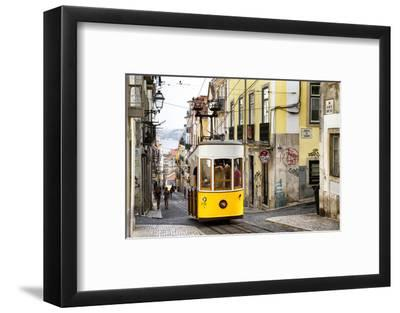 Welcome to Portugal Collection - Bica Tram in Lisbon-Philippe Hugonnard-Framed Photographic Print