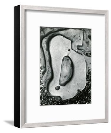 Rock and Pebbles, California, 1959-Brett Weston-Framed Photographic Print