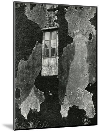 Window, Europe, 1971-Brett Weston-Mounted Photographic Print