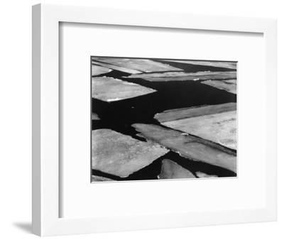 Ice and Water, High Sierra, California, 1962-Brett Weston-Framed Photographic Print