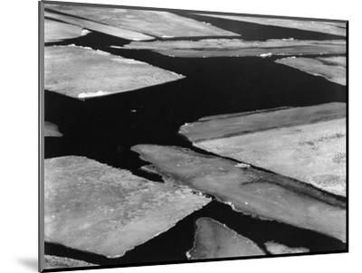 Ice and Water, High Sierra, California, 1962-Brett Weston-Mounted Photographic Print