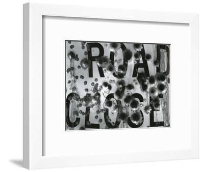 Metal Sign, c. 1975-Brett Weston-Framed Photographic Print