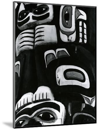 Totem Pole Detail, Alaska, c. 1970-Brett Weston-Mounted Photographic Print