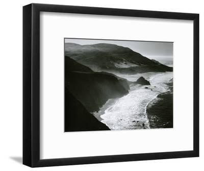 Shoreline, Big Sur, c. 1970-Brett Weston-Framed Photographic Print