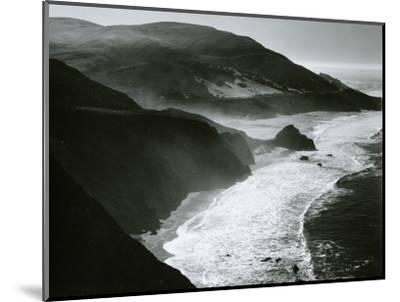Shoreline, Big Sur, c. 1970-Brett Weston-Mounted Photographic Print