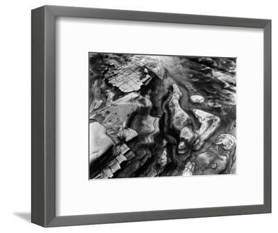 Rock Formation, Point Lobos, 1953-Brett Weston-Framed Photographic Print