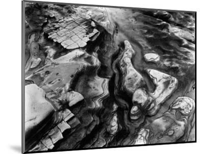Rock Formation, Point Lobos, 1953-Brett Weston-Mounted Photographic Print