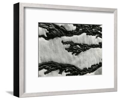 Snow, 1954-Brett Weston-Framed Photographic Print