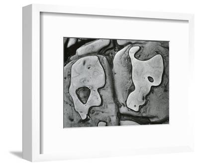 Rock Formation, c.1950-Brett Weston-Framed Photographic Print
