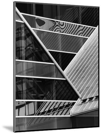 Building Reflection, c. 1980-Brett Weston-Mounted Photographic Print