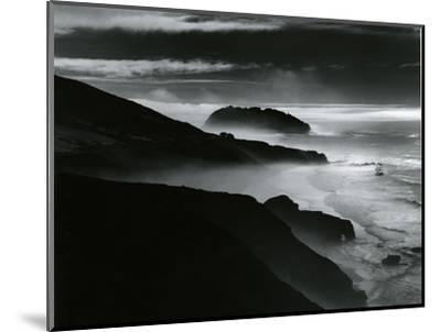 Coast, Big Sur, California, 1981-Brett Weston-Mounted Photographic Print