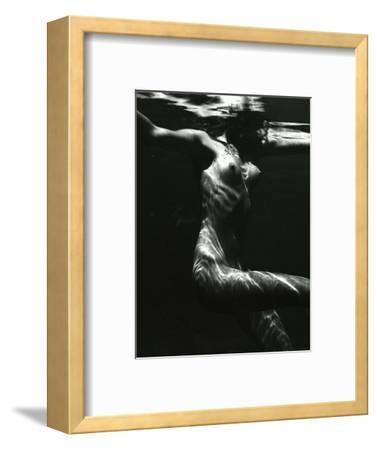 Underwater Nude, 1981-Brett Weston-Framed Photographic Print