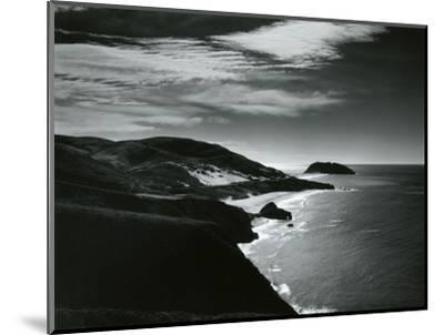 Fog, Big Sur, 1963-Brett Weston-Mounted Photographic Print