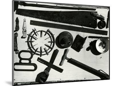 Tools, c. 1940-Brett Weston-Mounted Photographic Print