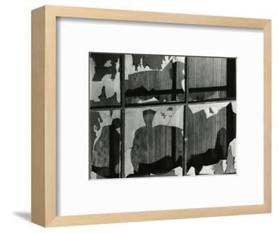Broken Window, 1978-Brett Weston-Framed Photographic Print
