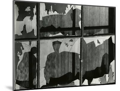 Broken Window, 1978-Brett Weston-Mounted Photographic Print