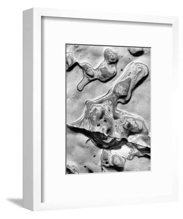 Rock Formation, 1952-Brett Weston-Framed Photographic Print