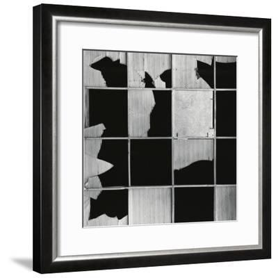 Broken Glass and Window, c. 1970-Brett Weston-Framed Photographic Print