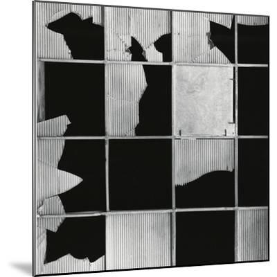 Broken Glass and Window, c. 1970-Brett Weston-Mounted Photographic Print