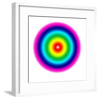 Geometric lights,#1-Alex Caminker-Framed Giclee Print
