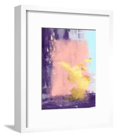 Bright Abstract-Urban Epiphany-Framed Art Print