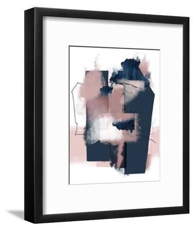 Juxtaposed Reality 2-Urban Epiphany-Framed Art Print