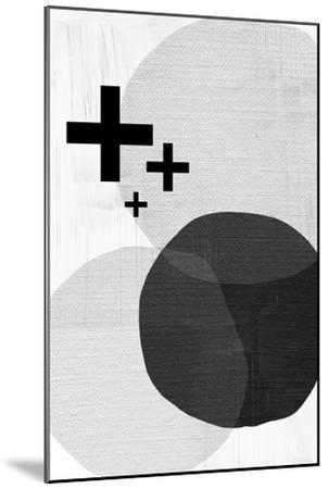 Black White Scandi Modern-Urban Epiphany-Mounted Art Print