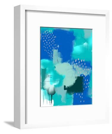 Scandi Abstract-Urban Epiphany-Framed Art Print