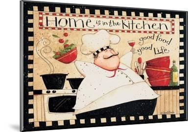 Home Is In The Kitchen-Dan DiPaolo-Mounted Art Print